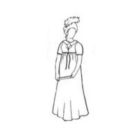Early 19th Century Gown Pattern