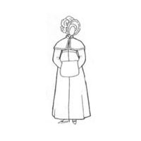 Regency Redingote/Riding Coat Pattern