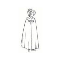 Lady's Regency Cape/Mantle Pattern