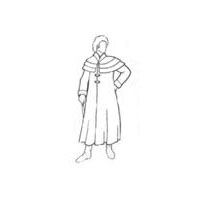 1800's Colonial - Regency Era Coachman's Coat Pattern