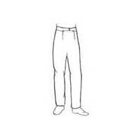19th Century Narrow Fall Pants Pattern