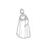1837-40 Day Dress Pattern