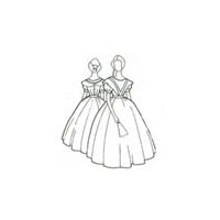 1860's Civil War Era Ball Gown Pattern