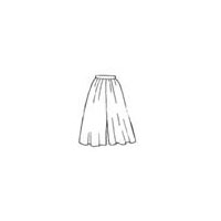 Split-Skirt Pattern