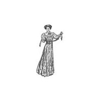1890's Wrapper/Tea Gown Pattern