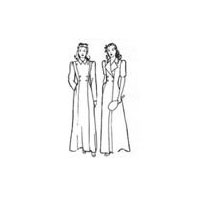 1940's Robe or Coat Pattern