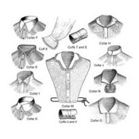 Late Victorian Collars and Cuffs Pattern