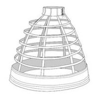 1856 Walking Cage Crinoline Pattern