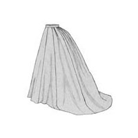 1869 Grand Parlor Skirt Pattern