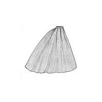 1865 Elliptical Skirt Pattern