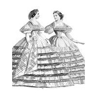 1861 Raphael Evening Dress Pattern