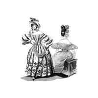 1830s Romantic Era Dress Pattern