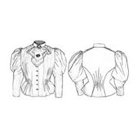 1893 Blouse Waist Pattern