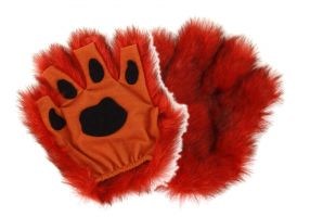 elope Fingerless Paws - Orange
