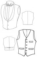 1860's & 1890's Men's Vests (Waistcoats) Pattern by Ageless Patterns