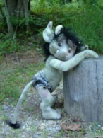 "Troll Tot Craft Pattern by ""Jennifer Carson, The Dragon Charmer"""