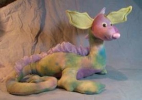 "Nessie, the Lass of Loch Ness, Sea Monster Craft Pattern by ""Jennifer Carson, The Dragon Charmer"""