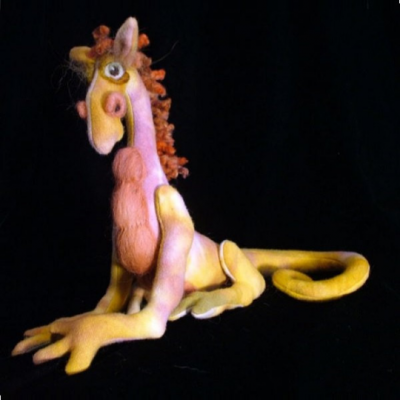 "Longtailed Dragon Craft Pattern by ""Jennifer Carson, The Dragon Charmer"""