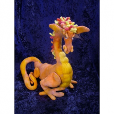 "Happy Dragon Craft Pattern by ""Jennifer Carson, The Dragon Charmer"""