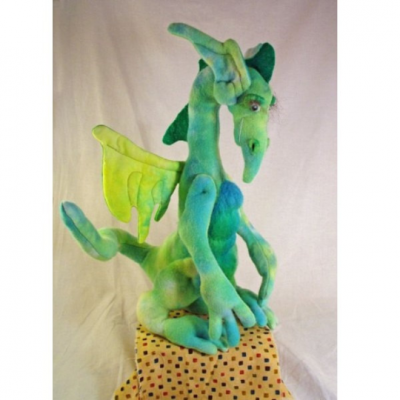 "Parcival, 13 Inch Dragon Sewing Pattern by ""Jennifer Carson, The Dragon Charmer"""