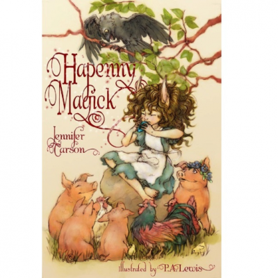 "Book - Hapenny Magick by ""Jennifer Carson, The Dragon Charmer"""