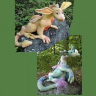 "Dragon Hatchlings Craft Pattern by ""Jennifer Carson, The Dragon Charmer"""