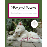 "Beyond Bears  Pattern Drawing Book by ""Jennifer Carson, The Dragon Charmer"""