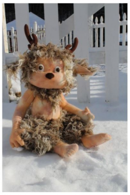 "Grizzle the Faun Craft Pattern by ""Jennifer Carson, The Dragon Charmer"""