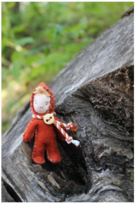 "Tidbit Faeries Craft Pattern by ""Jennifer Carson, The Dragon Charmer"""