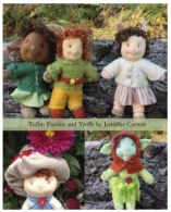 "Hapenny Magick, Tidbit Faeries and Trolls Craft Pattern by ""Jennifer Carson, The Dragon Charmer"""