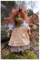 "Huldfrejya, The Troll Queen Craft Pattern by ""Jennifer Carson, The Dragon Charmer"""