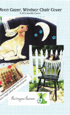 "Moongazer, Hare, Windsor Chair Cover Craft Pattern by ""Jennifer Carson, The Dragon Charmer"""