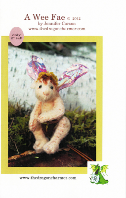 "A Wee Fae, Fairy Baby Craft Pattern by ""Jennifer Carson, The Dragon Charmer"""