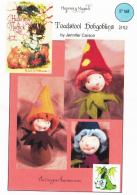 "Hapenny Magick, Toadstool Hobgoblins Craft Pattern by ""Jennifer Carson, The Dragon Charmer"""