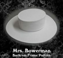 Mrs. Bowerman Hat Pattern - Victorian, Edwardian, Titanic through 1920's Hat Pattern