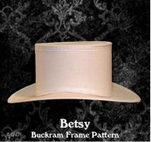 Betsy Top Hat Pattern - 19th Century Victorian or Steampunk Styling by Denise Nadine Designs