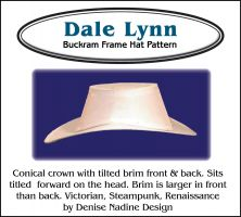 Dale Lynn Hat Sewing Pattern by Denise Nadine