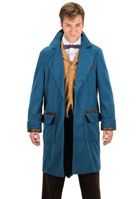 Officially Licensed Fantastic Beasts and Where to Find Them Newt Scamander Coat by elope