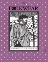 French Cheesemaker's Smock Pattern by Folkwear