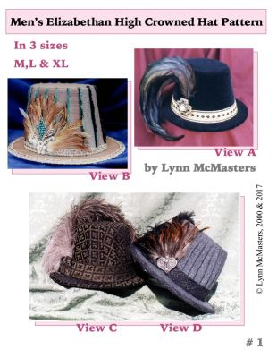 ac9f60f7e17 Patterns of Time Men s Elizabethan High Crowned Hat by Lynn ...