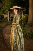 SS127 - Ladies' 1780s Portrait Dress Sewing Pattern by Sense & Sensibility