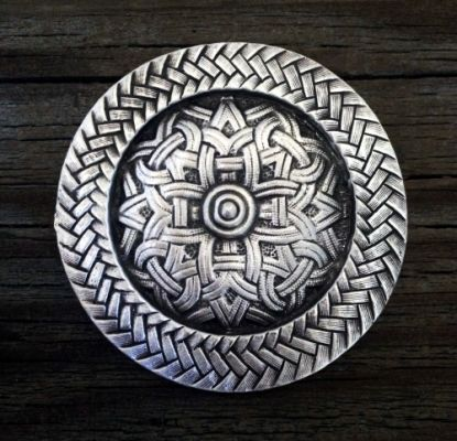 Viking / Celtic Brooch in Pewter