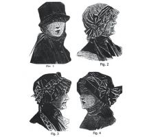 1915 6 Assorted Hats Sewing Pattern by Ageless Patterns