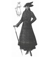 1915 Mourning Coat Sewing Sewing Pattern by Ageless Patterns