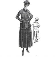 1917 Suit of Sweater Wool Sewing Pattern by Ageless Patterns