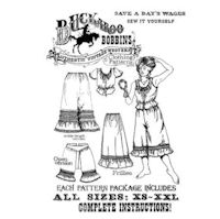 1800s - 1900s Frillies Western Underthings Pattern