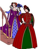 The Elizabethan Lady's Wardrobe Pattern by Margo Anderson