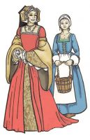 The Tudor Lady's Wardrobe Pattern by Margo Anderson