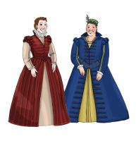 16th Century Lady's Doublet and Gown Pattern by Margo Anderson