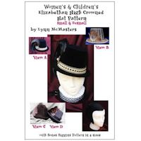 Women's and Children's Elizabethan High Crowned Hat